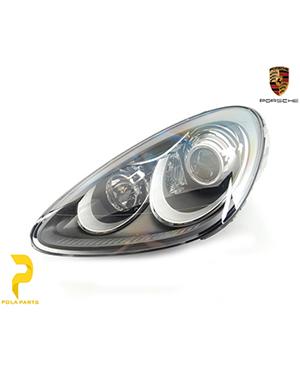 چراغ-جلو-سمت-چپ-پورشه-کاین-95863117701-قیمت-خرید-لوازم-یدکی-قطعات-بدنه-اصلی-آلمانی-اورجینال-porsche-Genuine-cayenne