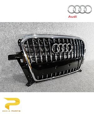جلو-پنجره-آئودی-Q5-8R0853651AC-قیمت-خرید-فروش-لوازم-یدکی-قطعات-مصرفی-بدنه-اصلی-آلمانی-اورجینال-audi-Genuine-front-grill