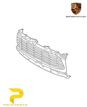 جلو-پنجره-پورشه-ماکان-95B807683L1E0-قیمت-خرید-فروش-لوازم-یدکی-قطعات-مصرفی-بدنه-اصلی-آلمانی-اورجینال-porsche-Genuine-MACAN-center-grill