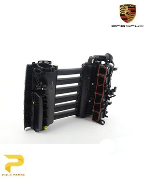 منیفولد-هوا-پورشه-کاین-95511000601-قیمت-خرید-فروش-لوازم-یدکی-قطعات-مصرفی-بدنه-اصلی-آلمانی-اورجینال-porsche-Genuine-cayyene-manifold-intake